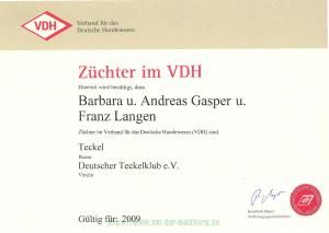 Züchter im VDH 2009